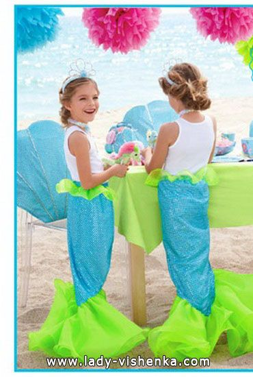 Halloween costumes for girls  - The Little Mermaid