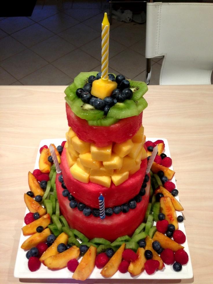18 best Healthy birthday cakes images on Pinterest Birthdays