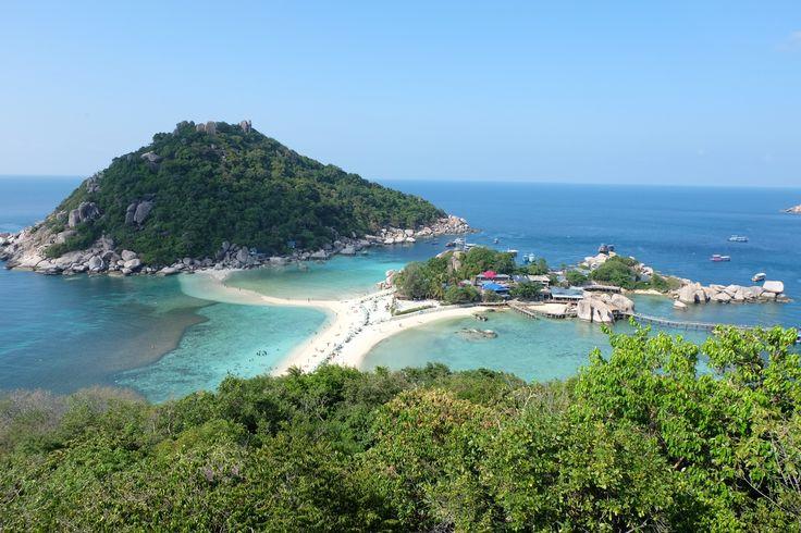 Une semaine sur l'île de Koh Tao, Thaïlande