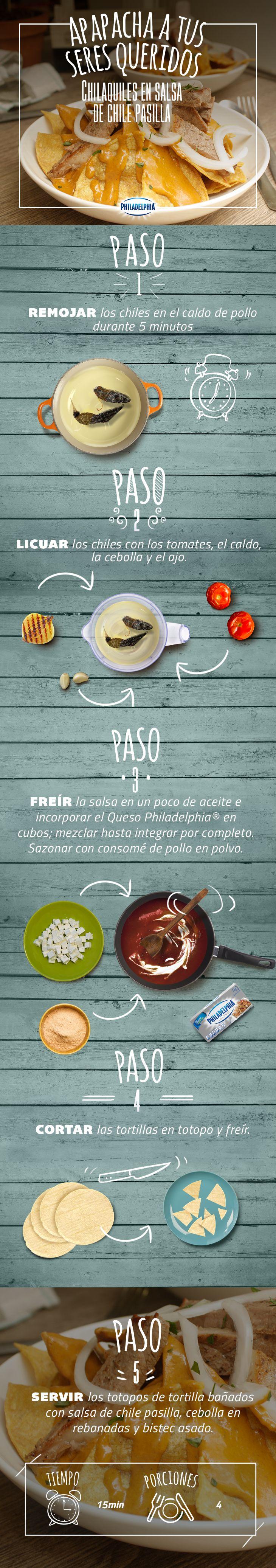 Una receta tradicional de nuestro país.  #Chilaquiles #RecetaTradicional #Casero