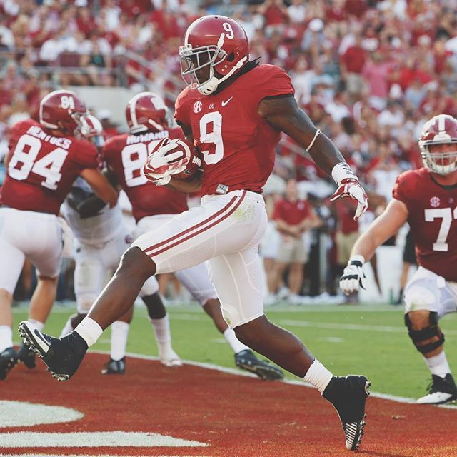 Bo Scarborough touchdown..ROLL TIDE