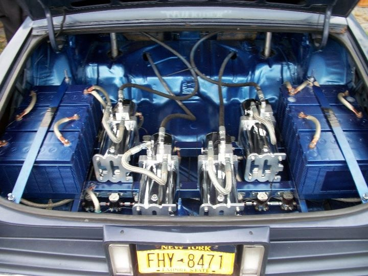 Cars With Hydraulics: Blue , Www.coolcars.org Cce Equipped , Hydraulics System