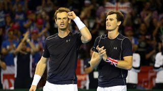 Andy and Jamie Murray could seek to cap their glittering careers by teaming up to win a Wimbledon doubles title, according to their mothe...