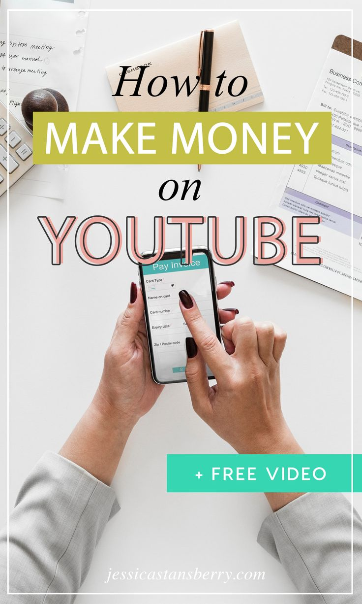 Have you ever wondered how to make money on YouTube? Like, it's great and all, i… – Jessica Stansberry | Video Marketing