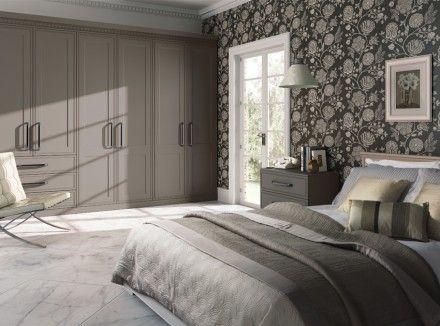 Fitted Wardrobes Design | Matt Stone Grey Tullymore