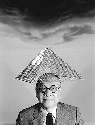 Ancient architecture is still RELEVANT today - Chinese/American architect Ieoh Ming Pei, Born in Canton (Guangzhou)1917 - designer of Pyramide du Louvre