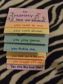 Two Quick and Easy Mother's Day Cards for Kids   Wayward Girls' Crafts