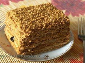 Торт Медовик    MAMIN  !!!!