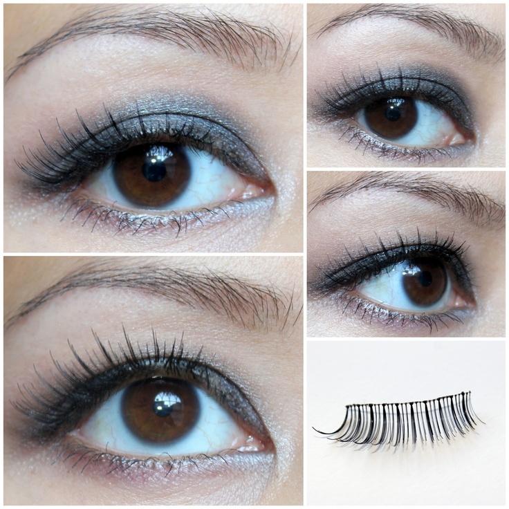 natural fake eyelashes!