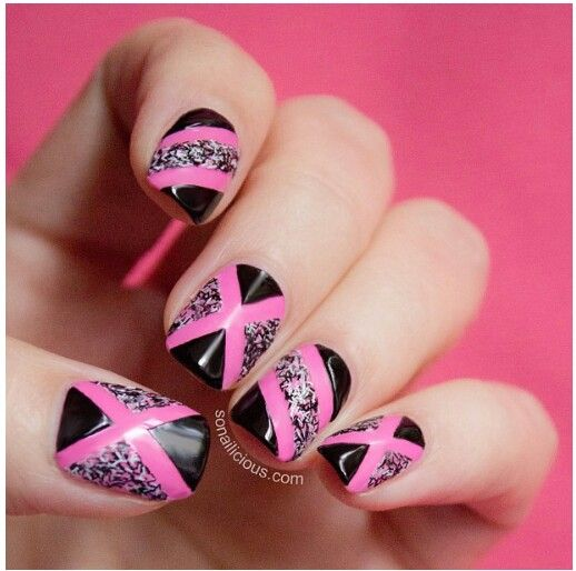 17 Best Images About Nail Art- Abstract On Pinterest