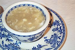 Egg Drop Soup    Bring 3 cups of broth or bouillion water to a boil. Reduce heat to medium & add 3/4 c. grated carrot, 1/4 tsp. ground black pepper & a dash of white pepper & cook for a minute or two, until carrot is tender. Beat 2 eggs in a bowl, stir into the soup, & turn off burner. The heat left in the burner & pan will cook the egg just enough in a minute or two, overcooking will cause egg to become rubbery. Remove from heat & add 2 T basil leaves. Serve immediately & savor every…