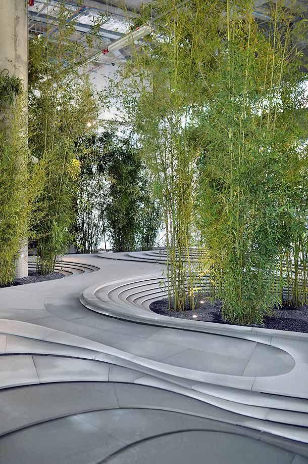 Kengo kuma naturescape at fuorisalone milano landscape for Garden designer milano