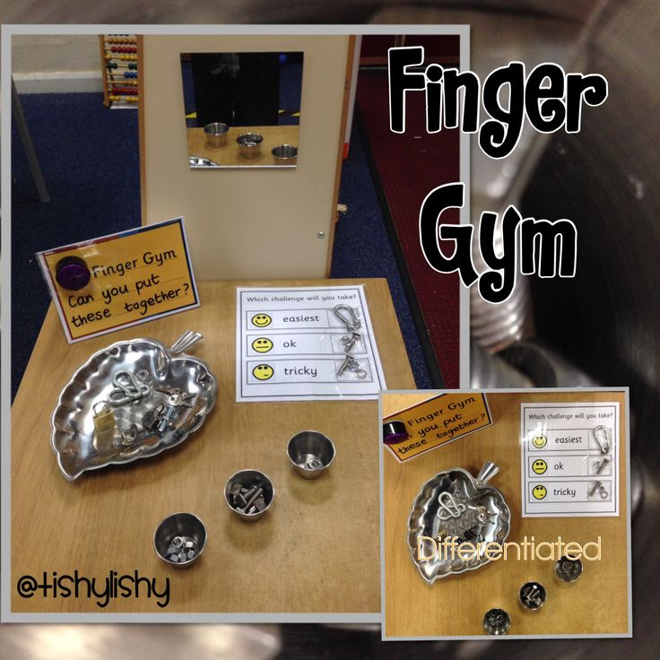 Differentiated Finger Gym