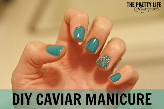 The Pretty Life Anonymous | Pinned/Tried/Loved It: Caviar Manicure  | http://prettylifeanonymous.blogspot.com/
