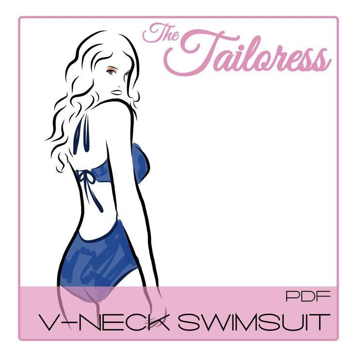 14 besten Swimsuit PDF Sewing Patterns Bilder auf Pinterest ...