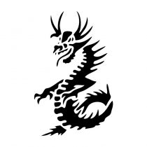 your little boy will love rocking this dragon tattoo - Stencils For Boys
