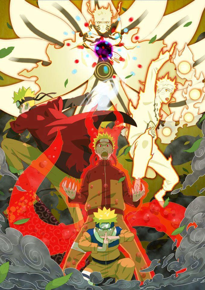The Evolution of Naruto Uzumaki.