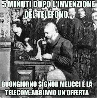 Buongiorno Signor Meucci...