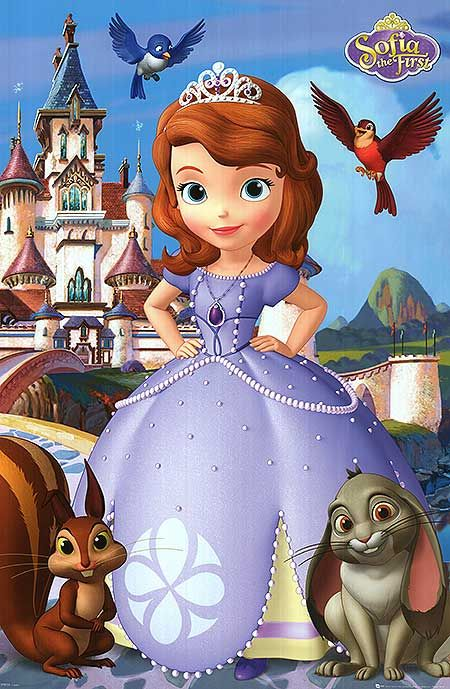 [ SOFIA THE FIRST POSTER ]