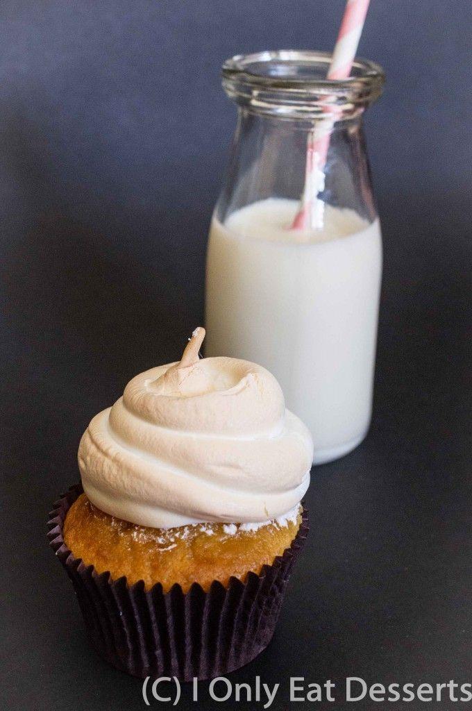 BTS Cafe Carrie - Lemon, Vanilla Buttermilk Cake with Lemon Curd Centre & Meringue Top