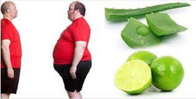 """Babosa e limão têm propriedades que ajudam o corpo a eliminar toxinas.Os dois também são excelentes """"queimadores de gordura"""".Quando consumimos babosa e limão, metabolizamos melhor os ácidos graxos, fazendo com que a gordura seja eliminada naturalmente."""
