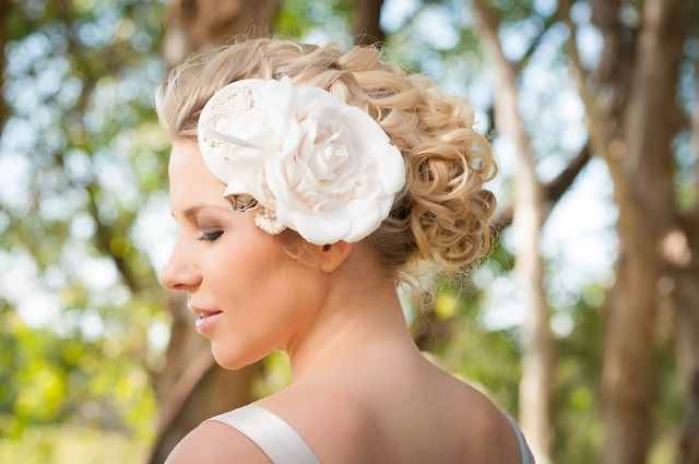 Bridal Beauty | The Bride's Tree - Sunshine Coast Wedding    Bridal Makeup & Hair Beauty  Makeup by: Sally Townsend Makeup Artistry  Hair by: Taryn Smith Hair Artistry  Hair accessory & dress by: Judy Copley Bridal  Photography by: Matt Rowe Photography  Location: Twin Waters Golf Club
