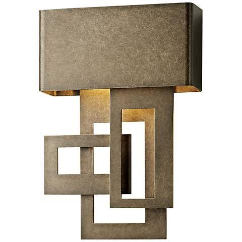 "Possini Euro Clemson 13"" High Bronze LED Outdoor Wall Light - #8J075   Lamps Plus"