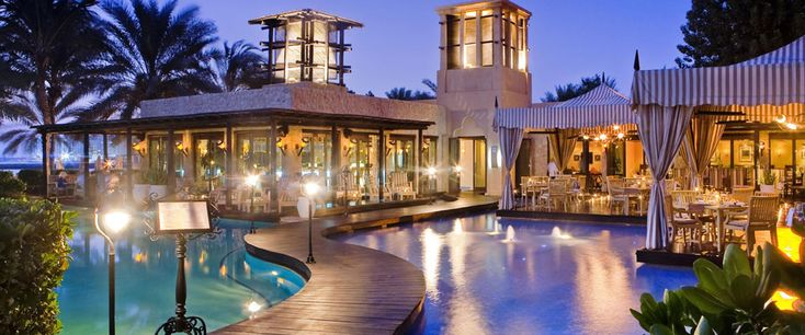 Eauzone Beachfront Dining | One Royal Mirage Dubai Luxury Beach Resort & Spa  Eau Zone International Asian Restaurant