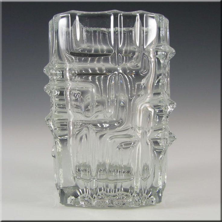 Rosice Sklo Union Glass Geometric Vase - Vladislav Urban - £19.99