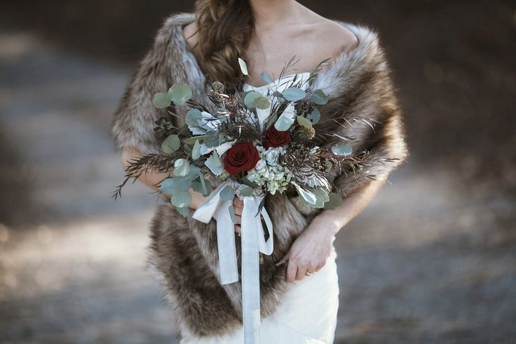 Huge Black Friday Sale! Subscribe in the link for details! Royal Scout and Co. Faux Fur Wrap for the romantic, woodland bride! Vintage mink stole reimagined for your wedding day and beyond! www.RoyalScoutandCo.com