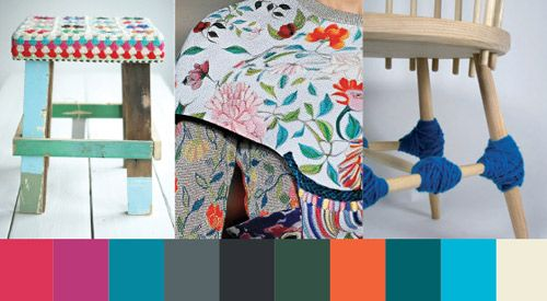 Color Trends Home Bold and Vibrant