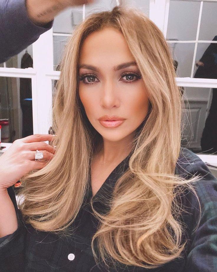 White Pearl Shampoo In 2020 Jennifer Lopez Hair Color Bombshell
