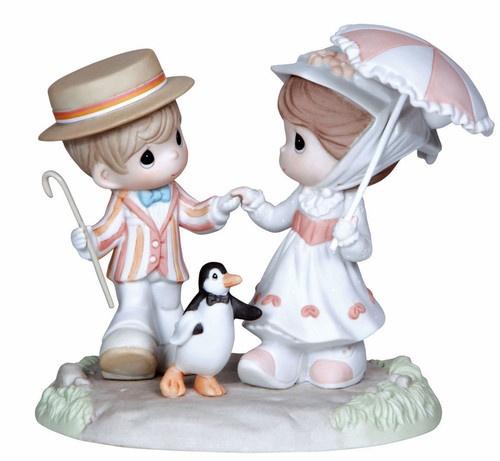 ♥ New Precious Moments Disney Figurine Mary Poppins Statue Holiday Umbrella | eBay