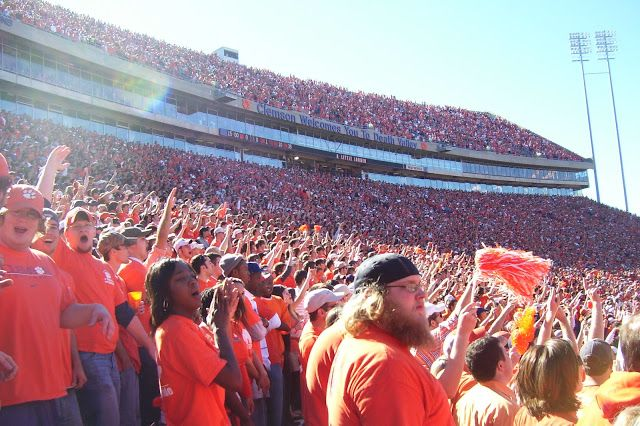 Clemson, South Carolina is another college town in the upstate known for having a longstanding rivalry with the University of South Carolina.