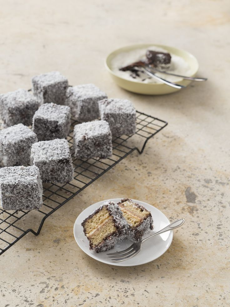 Lamingtons | Thermomix | Good food, gluten freeyour area.