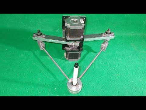 Homemade Scara Robot Arm 3d Printer Plotter Robotic Draw