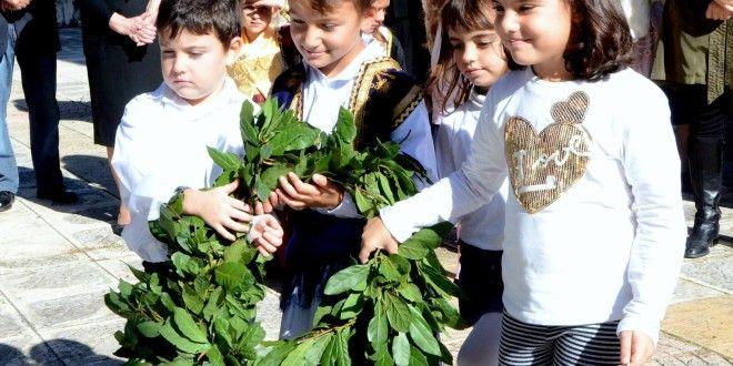 Φωτορεπορτάζ και βίντεο του Θανάση Κατωπόδη από τον εορτασμό της 28ης Οκτωβρίου στην Καρυά - inLefkas