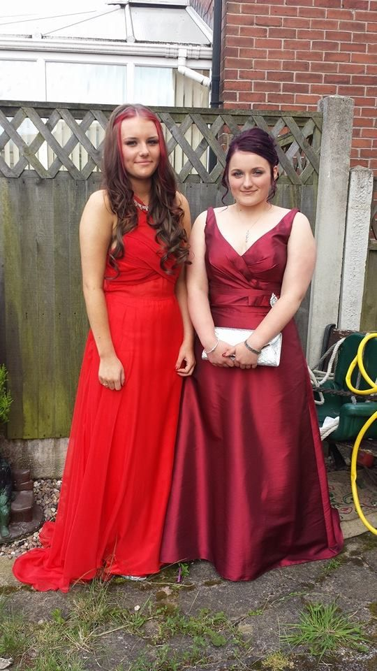 Before prom with Sherry