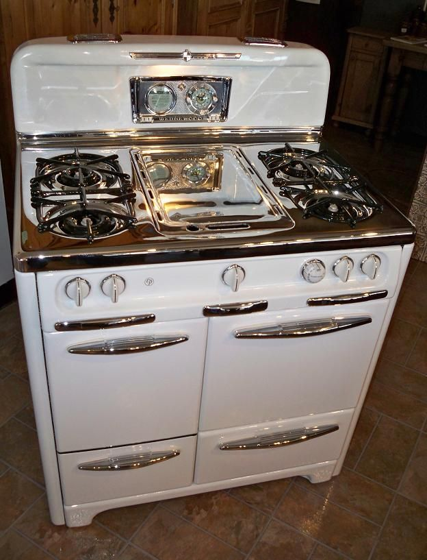 Restored Vintage Electric Stoves ~ Restored vintage wedgewood stove wow almost just