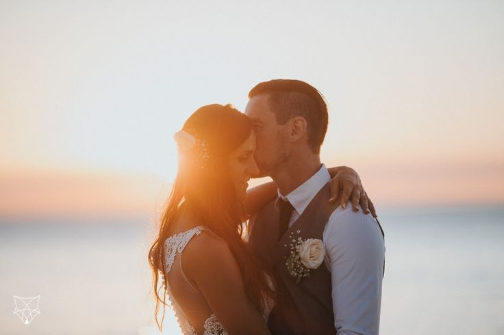 Kasia + Rick | Tangalooma beach wedding | White Fox Studios