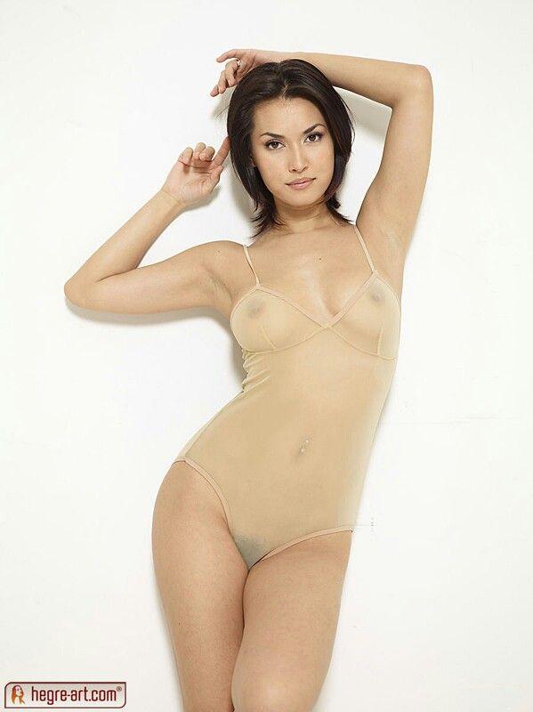 naked wife having orgasim