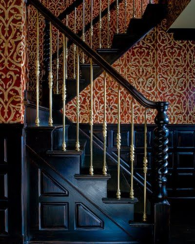 31 Stair Decor Ideas To Make Your Hallway Look Amazing: 17 Best Images About Victorian Staircases. On Pinterest