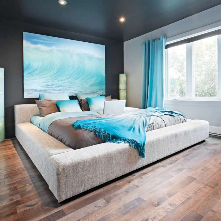 Les 25 meilleures id es concernant chambre coucher de for Chambre ambiance bord de mer