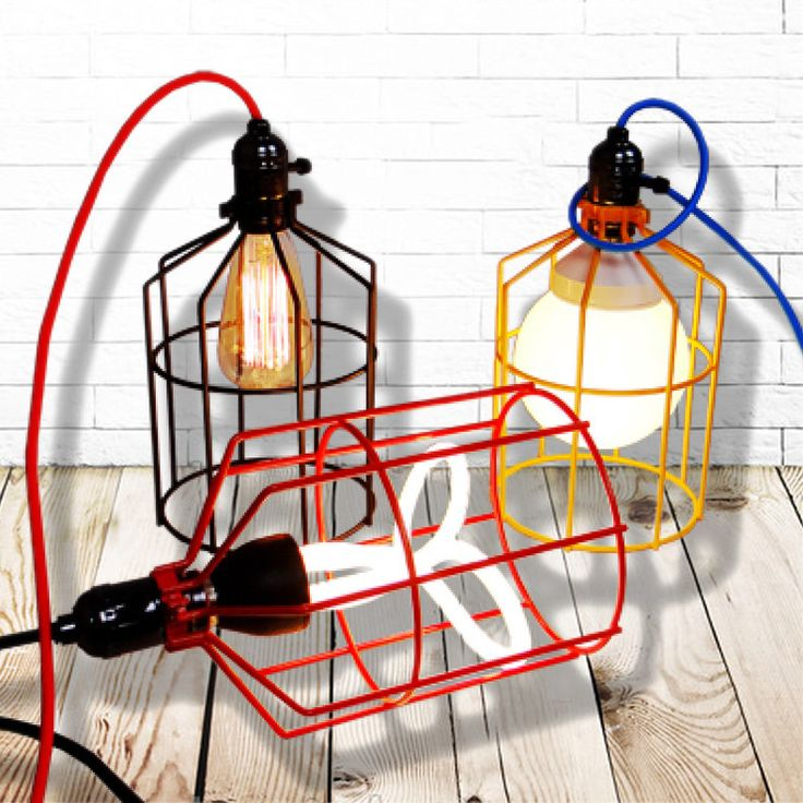 Billy Cage Industrial Pendant Light u2013 Tudo And Co  sc 1 st  Pinterest & 79 best verlichting images on Pinterest   Ceiling lamps Lighting ... azcodes.com