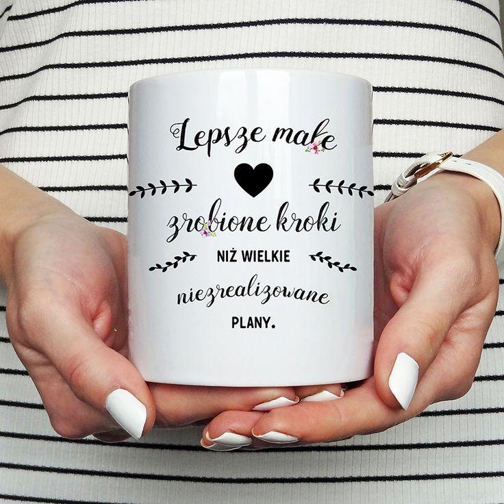 kubek kubki motywacja motywacyjne inspiracja pozytywne myśli cytaty słowa zdania kawa koszulove.com