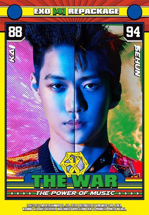 EXO Repackage Album_Power #Kai #Sehun