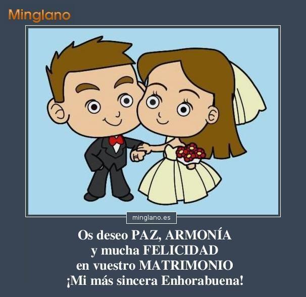Felicitaciones de boda bonitas