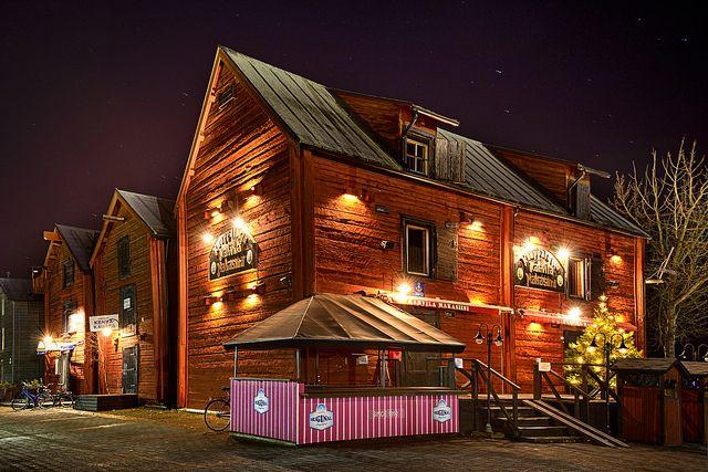 Oulu old town, Northern Ostrobothnia province of Finland - Pohjois-Pohjanmaa