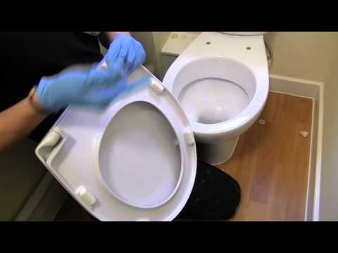 How to replace your toilet seat - If you find your toilet seat is loose or broken, you may need to replace it.  In this video, we will show you how to replace a toilet seat in your home.
