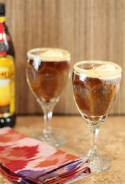 Combine coffee, ice cream, coffee liqueur and tequila to create this refreshing blended beverage. Recipe: Creative Culinary   - ELLEDecor.com
